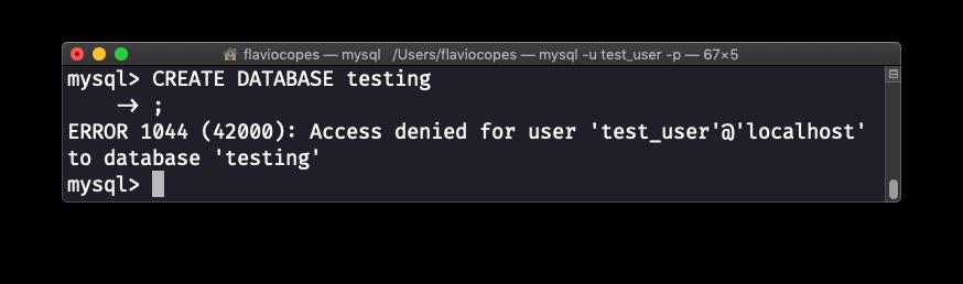 MySQL创建用户