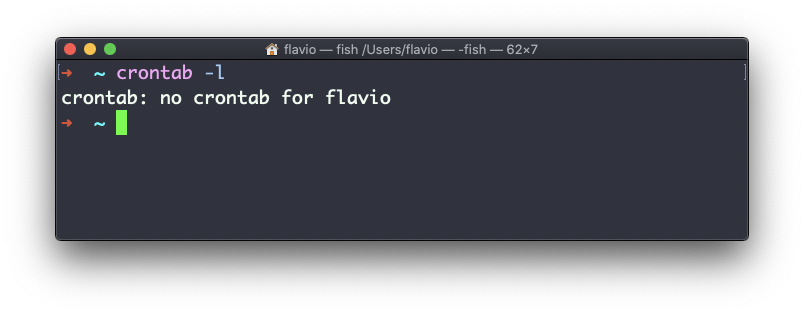 Linux crontab命令